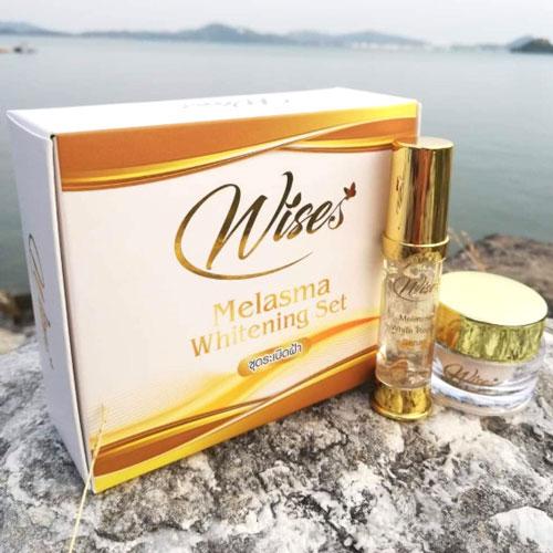 Bộ Dưỡng Trắng Da Trị Thâm Nám Wises Melasma Whitening Thái Lan