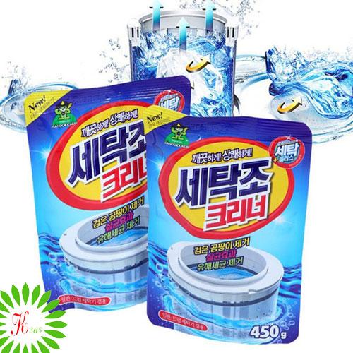 Bột Tẩy Vệ Sinh Lồng Máy Giặt Sandokkaebi Hàn Quốc