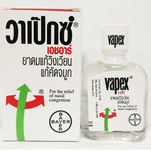 Dầu Hít Thông Mũi Vapex Thái Lan