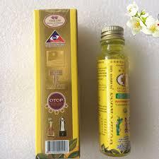 Dầu Thập Tự Vàng Thái Lan- Gold Cross Yellow Oil 24ml