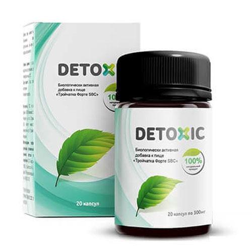 Detoxic Diệt Ký Sinh Trùng Hộp 30 Viên