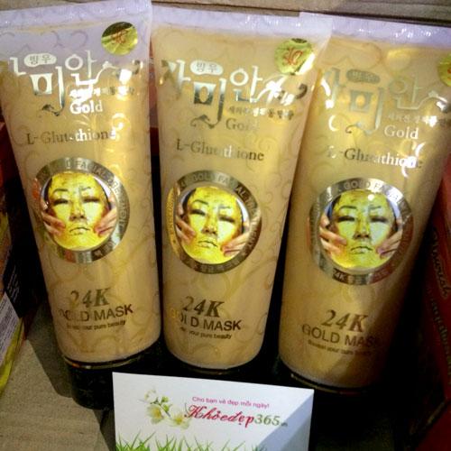 Gel Lột Mặt Nạ Vàng 24K Gold Mask (L- Glutathione) Hàn Quốc 220ml