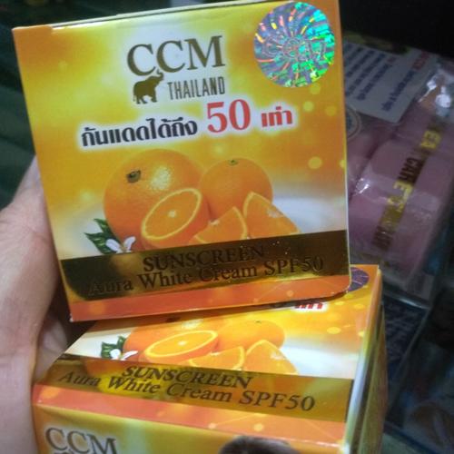 Kem Chống Nắng Trắng Da CCM SunCreen Thái Lan
