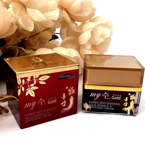 Kem Dưỡng Da Hồng Sâm My Gold Hàn Quốc (Đỏ) 50ml
