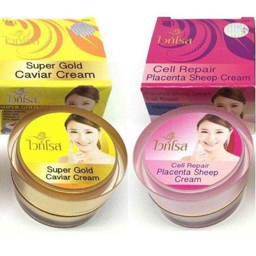 Kem Dưỡng Trắng Da Trị Nám Face Super Gold Caviar Thái Lan
