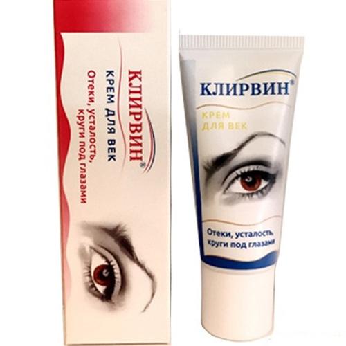 Kem Klirvin Đặc Trị Giảm Thâm Quầng Mắt Và Tan Bọng Mắt– Nga 20g