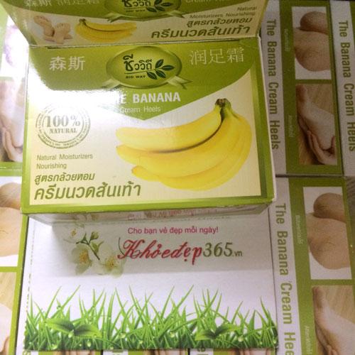 Kem Trị Nứt Gót Chân The Banana Cream Heels Thái Lan 30gr