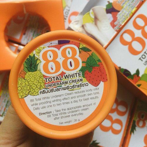 Kem Trị Thâm Nách 88 Total White Thái Lan
