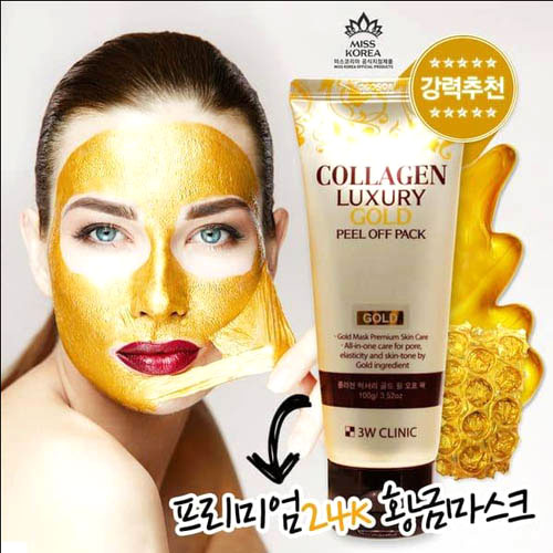 Mặt Nạ Vàng Collagen Luxury Gold Peel Off Pack 100g