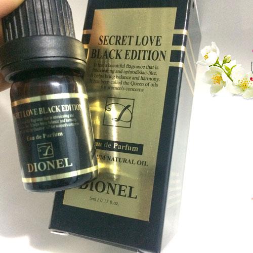 Nước Hoa Vùng Kín Dionel Secret Love - Black Edition Hàn Quốc  5ml
