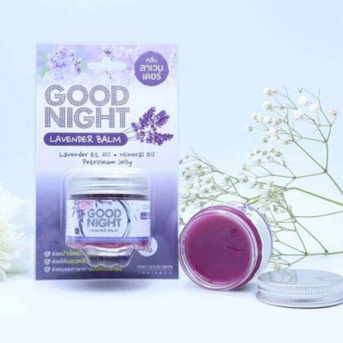 Sáp Bôi Ngủ Ngon GOOD NIGHT Lavender Balm Cao Cấp Thái Lan 40gr