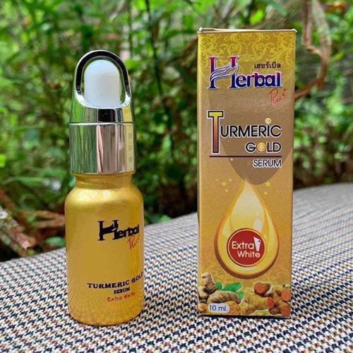 Serum Nghệ Dưỡng Trắng Da Trị Nám Herbal Turmeric Gold Thái Lan