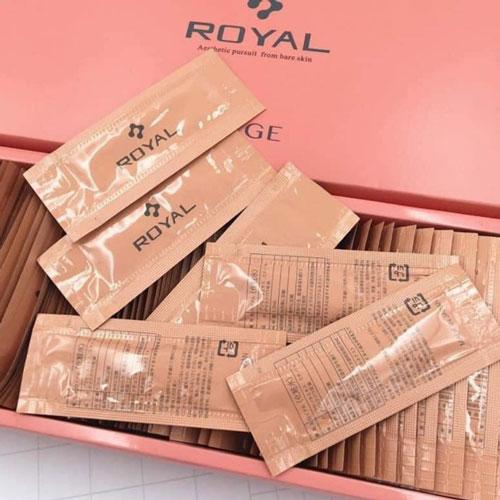 Serum Nhau Thai Cuống Rốn Royal Nhật Bản Hộp 90 gói