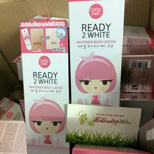 Sữa Dưỡng Trắng Cathy Doll Ready 2 White Body Lotion 150ml