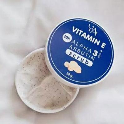 Tẩy Tế Bào Chết Ya Vitamin E Alpha Arbutin 3 Plus Scrub Thái Lan 50gr
