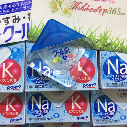 Thuốc Nhỏ Mắt Rohto Nhật Bản Vita 40 Bổ Sung Vitamin 12ml