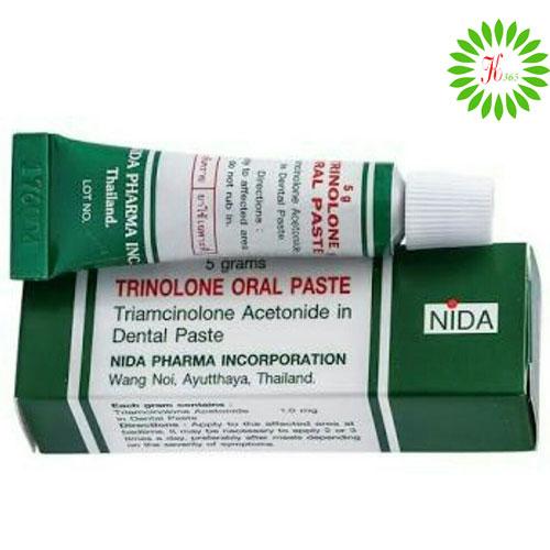 Thuốc Trị Nhiệt Miệng Trinolone Oral Paste Thái Lan