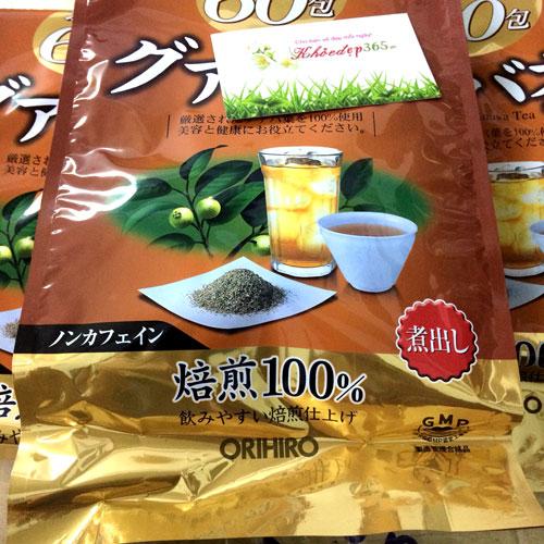 Trà Giảm Cân Ổi Orihiro Guava Tea Nhật Bản 60 Gói