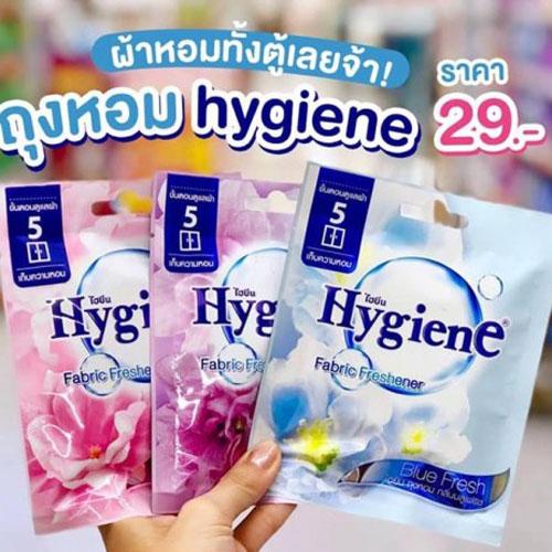 Túi thơm hương hoa đậm đặc Hygiene Thái Lan