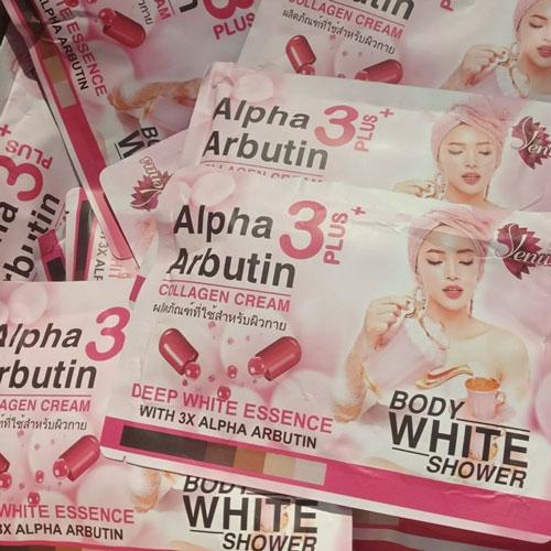 Ủ Tắm Trắng Alpha Arbutin 3+ Plus Collagen Thái Lan