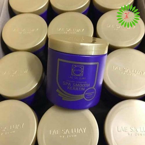 Ủ Tóc Collagen Lae Sa Luay Siêu Mượt Màu Tím Thái Lan 250ml