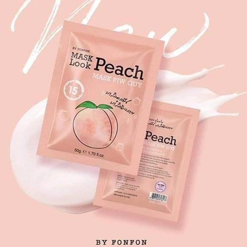 Ủ Trắng Đào Collagen Body Mask Look Peach Thái Lan