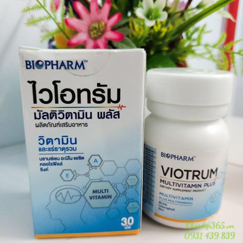 Viên Uống Bổ Não Viotrum Multivitamin Plus Nội Địa Thái Lan