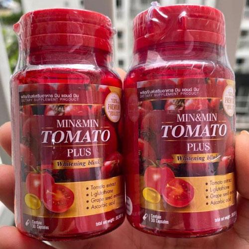 Viên Uống Trắng Da Cà Chua Tomato Thái Lan