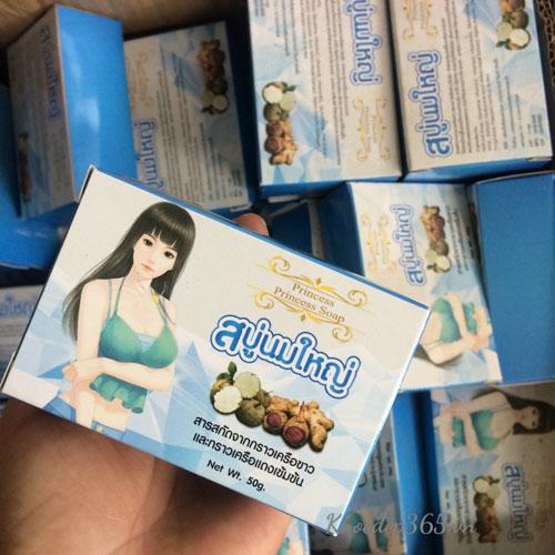 Xà Phòng Nở Ngực Princess Soap Thái Lan