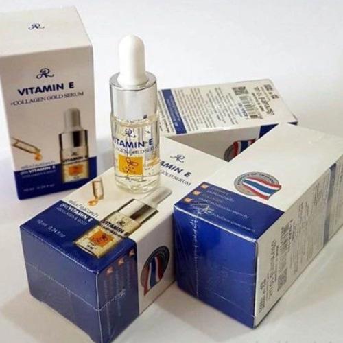 Serum Vitamin E Nâng Cơ Collagen Gold Thái Lan