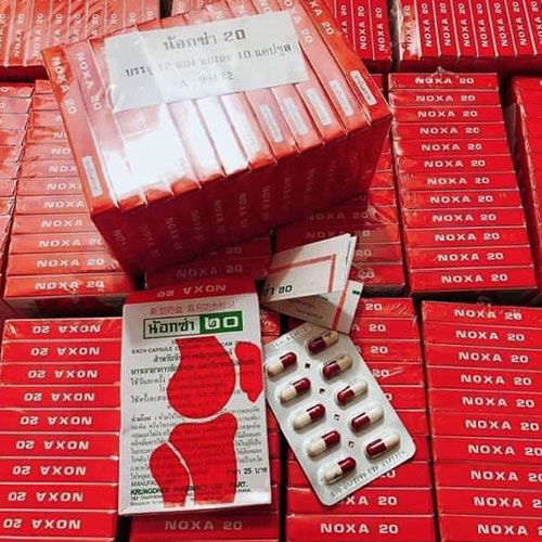 Thuốc Trị Xương Khớp Noxa 20 Vỉ 10 Viên Thái Lan
