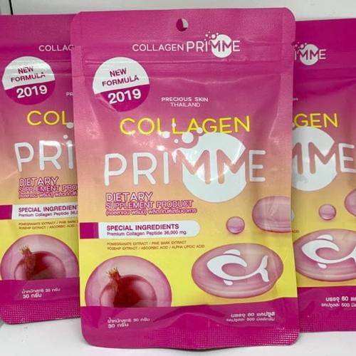 Viên Uống Trị Nám Trắng Da Collagen Primme Thái Lan