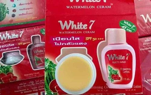 Kem Dưỡng Da Chống Nắng White 7 Kone Dưa Hấu Thái Lan